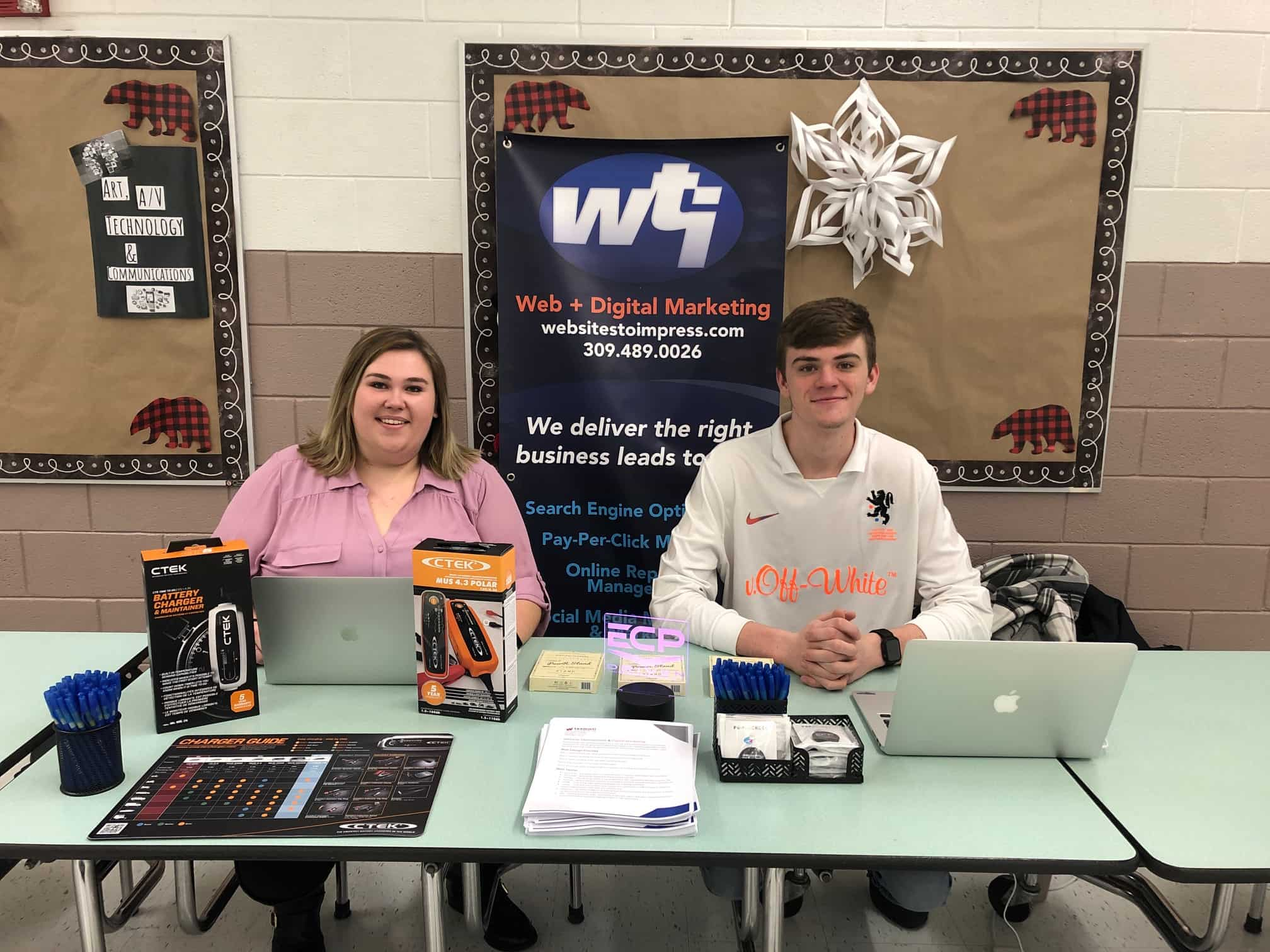 Team WTI Participates in GMS Career Fair
