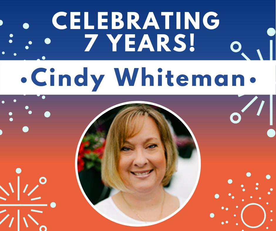 Celebrating 7 Years: Cindy Whiteman