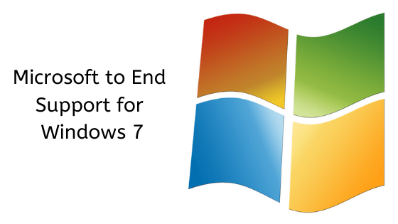 Microsoft No Longer Supporting Windows 7